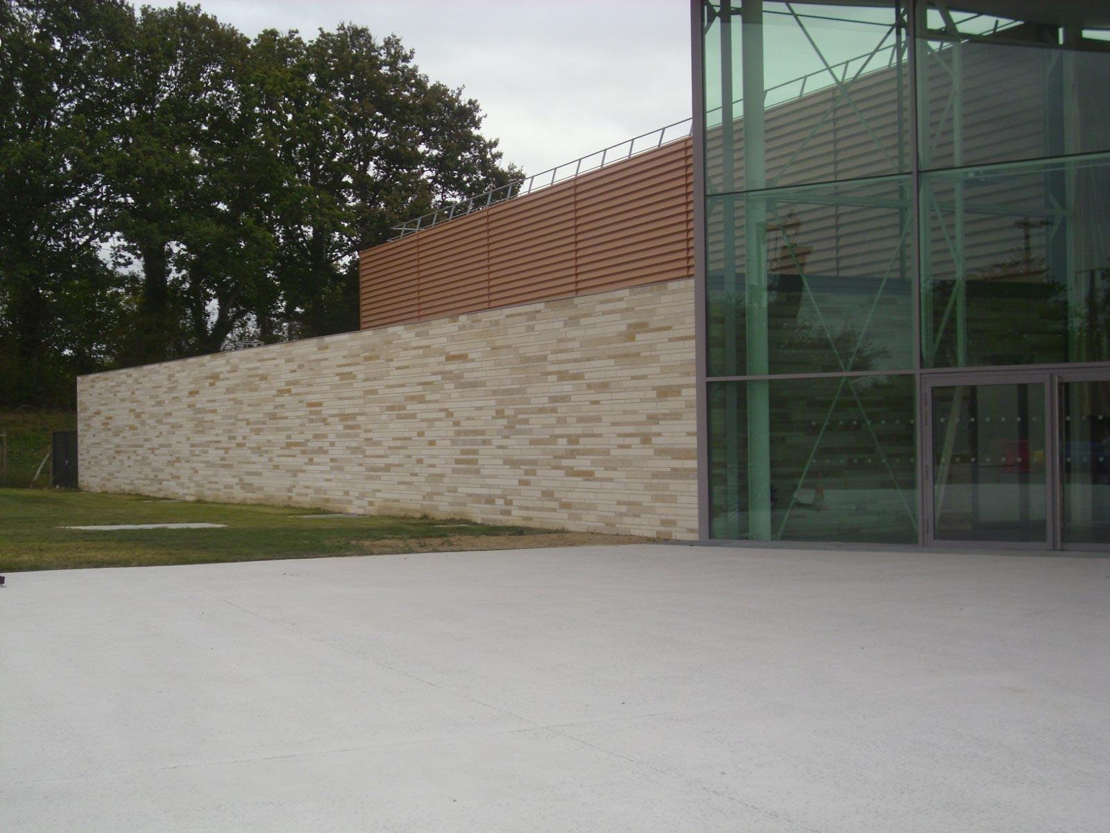parement facades maconne