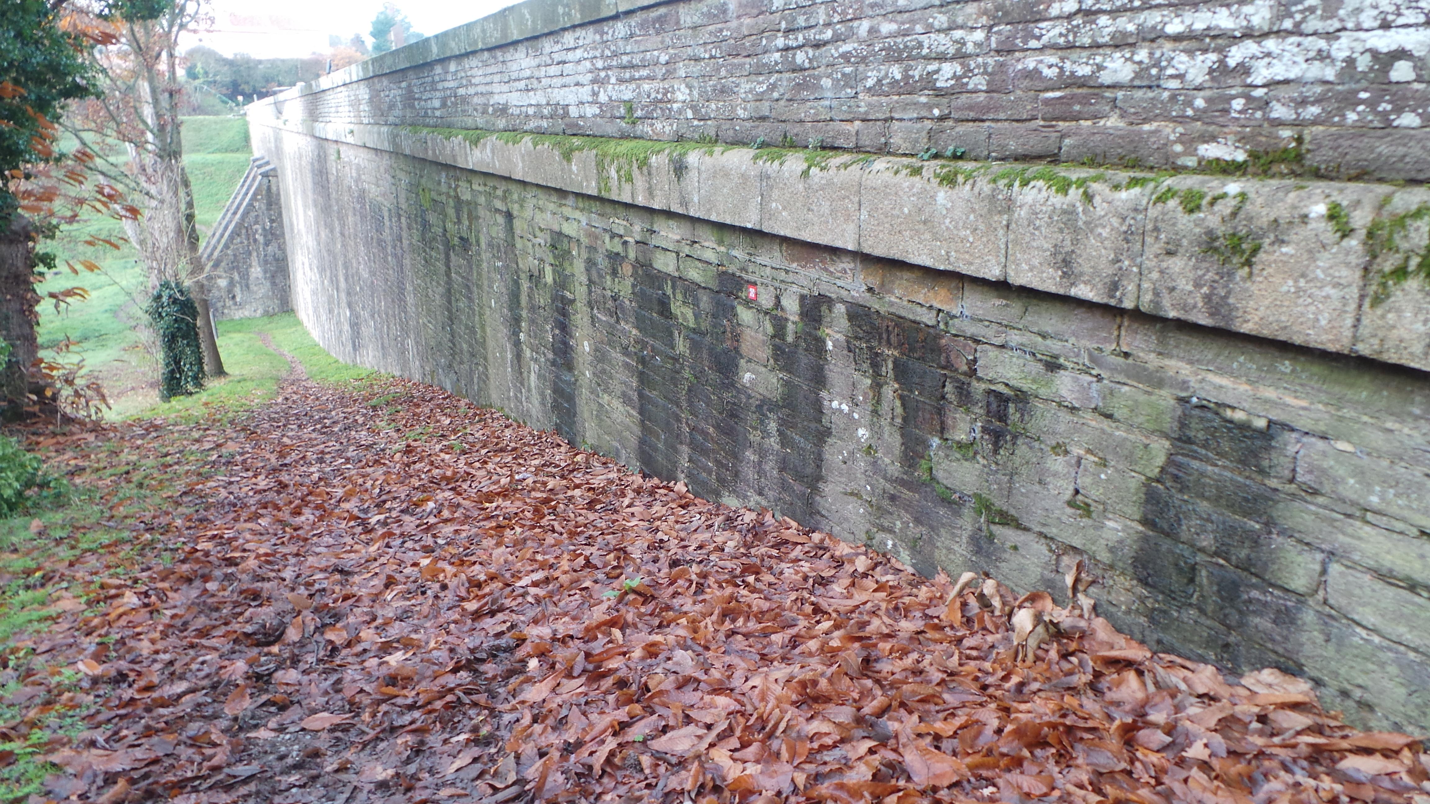 Barrage de Vioreau - Benaiteau - consolidation barrage pierres