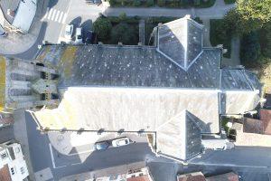 Eglise de Chambretaud inspection état sanitaire benaiteau