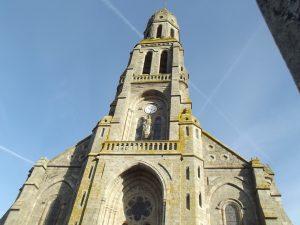 Eglise de Chambretaud inspection aérienne en drone benaiteau