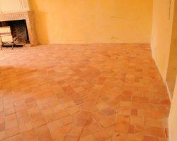 restauration d'un logis benaiteau sols pierres naturelles