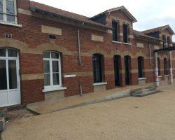 Rénovation des façades extérieures en briques e béton
