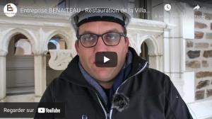 Vidéo Le Palazzo Clementina - BENAITEAU