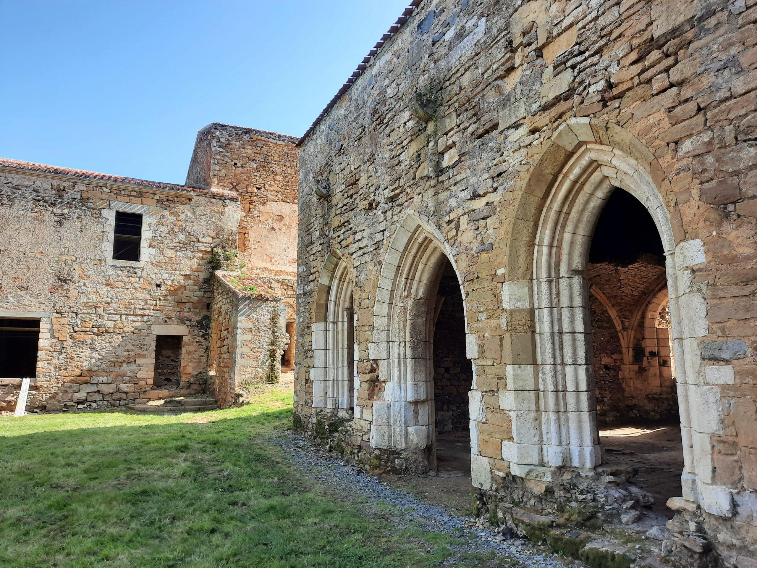 Chantier Benaiteau-Abbaye de Trizay