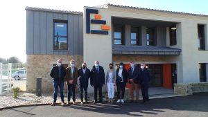 Visite élus - locaux Benaiteau